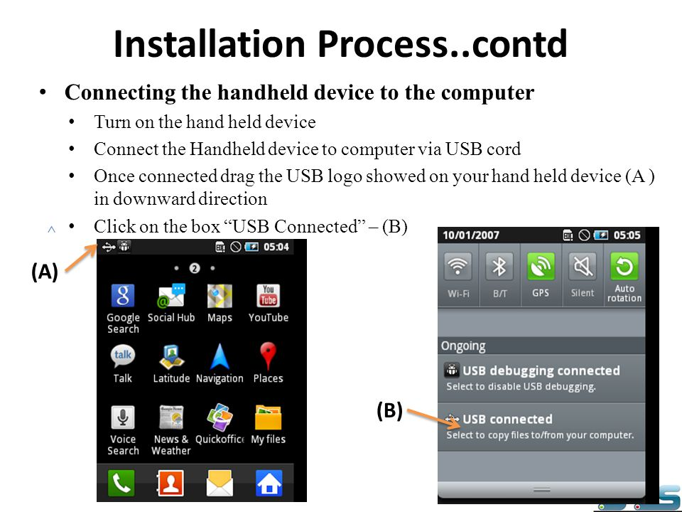 Installation Process..contd