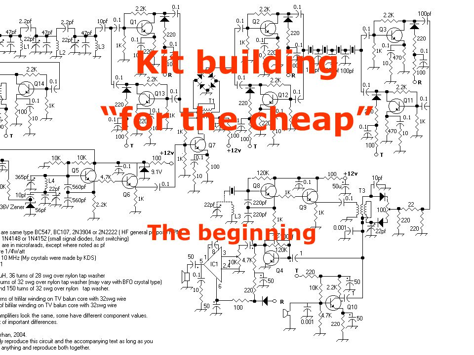 Kit Building on the Cheap
