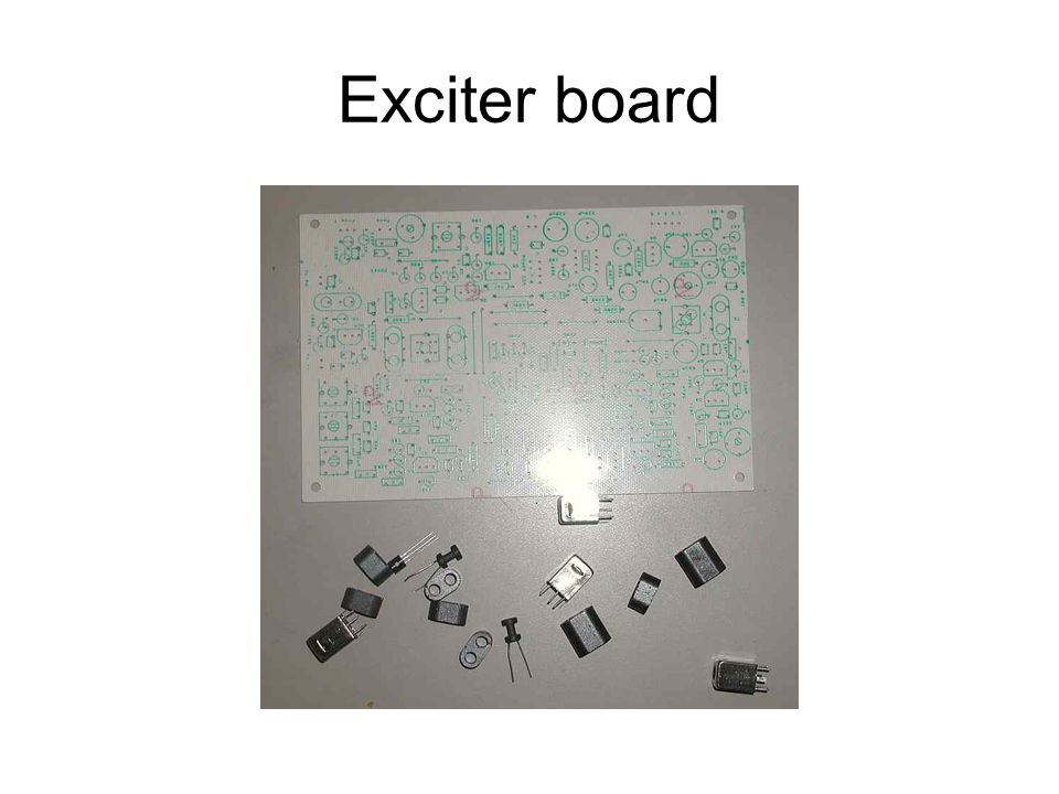 Exciter board