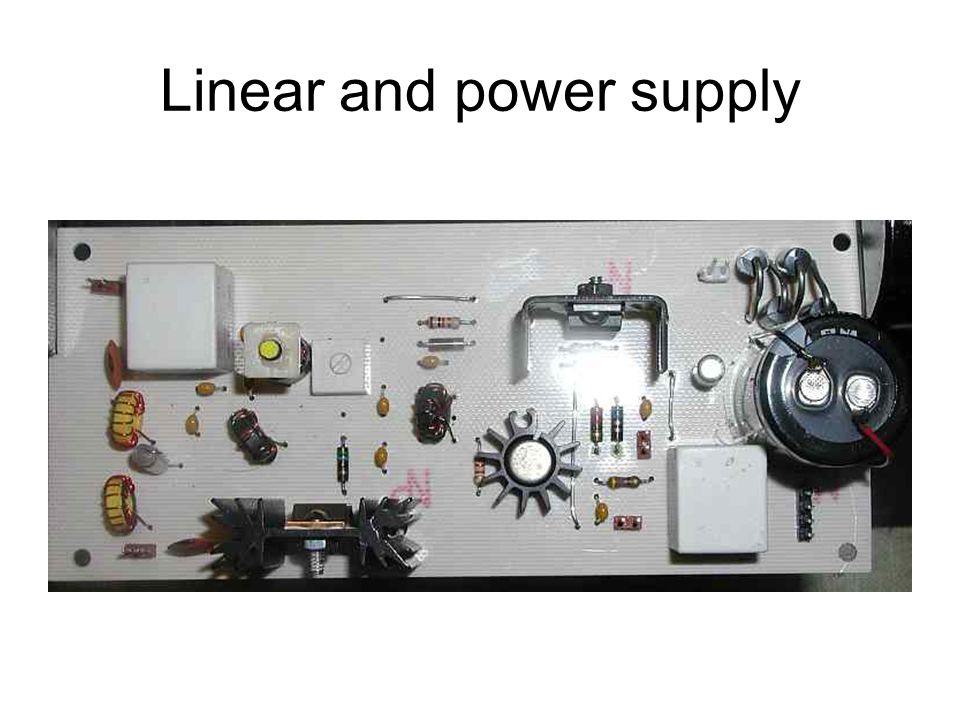 Linear and power supply