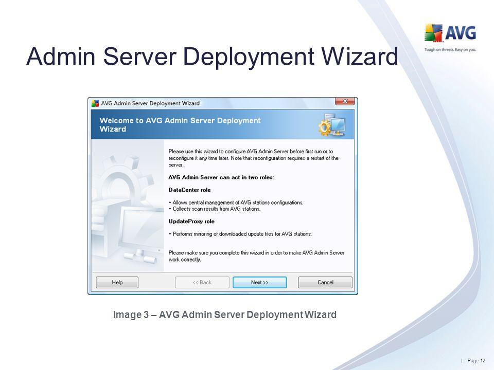 Admin Server Deployment Wizard