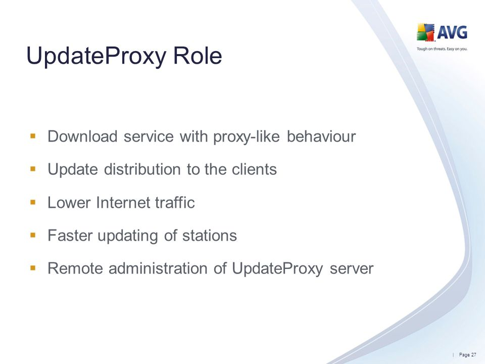 UpdateProxy Role Download service with proxy-like behaviour