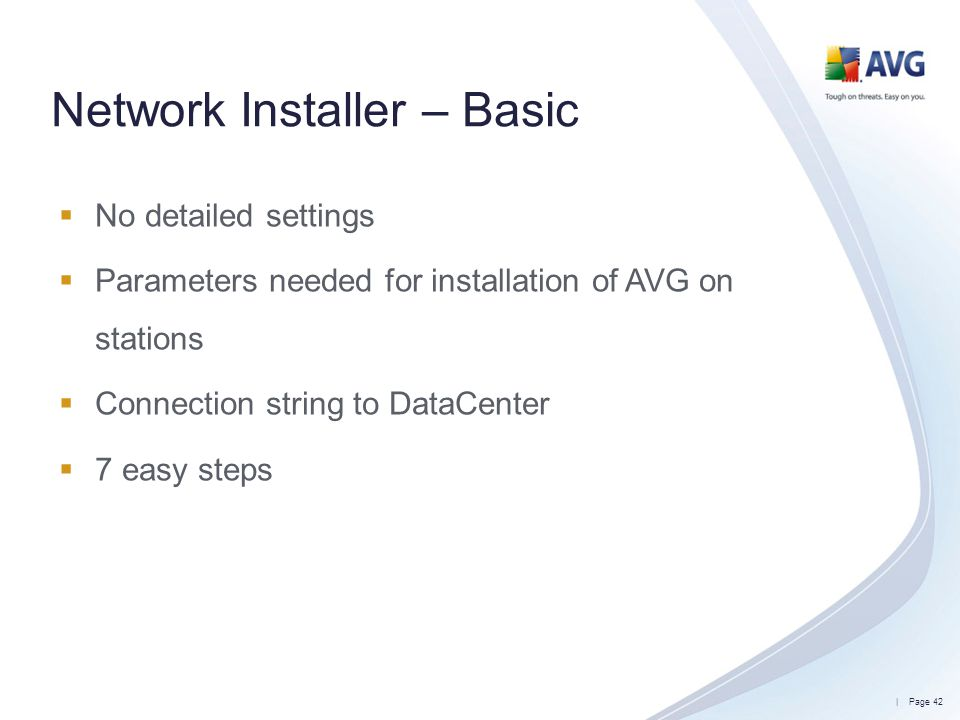 Network Installer – Basic