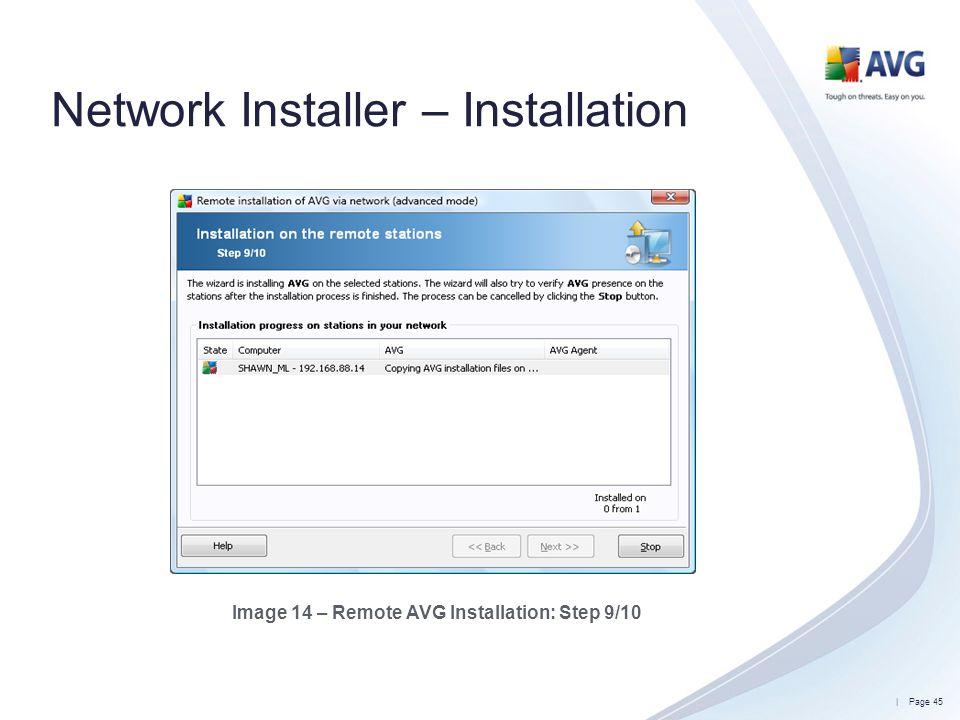 Network Installer – Installation