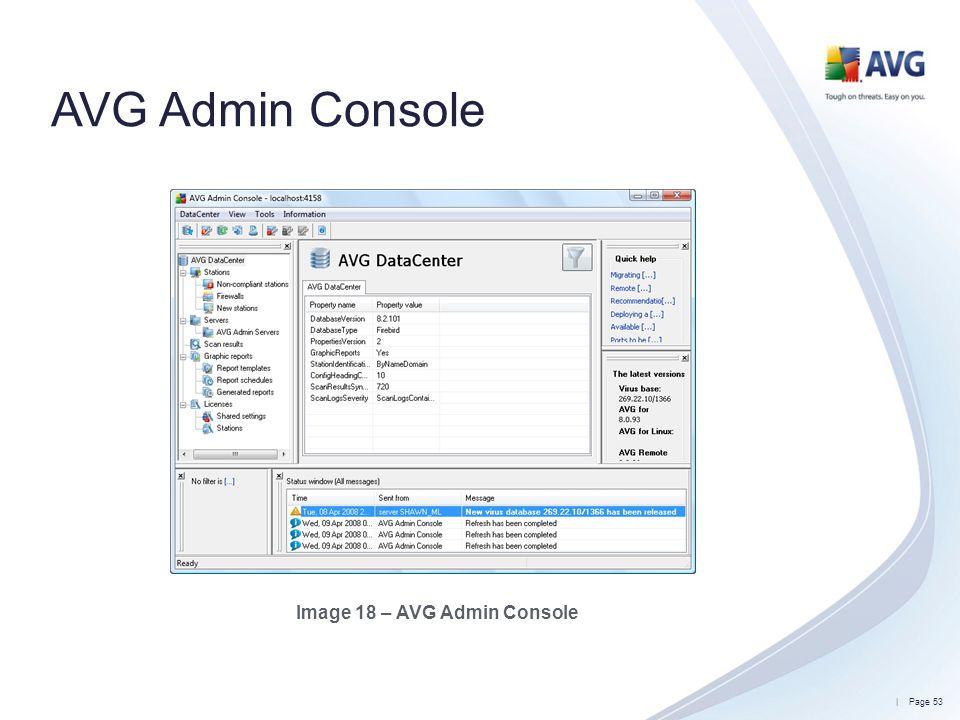 Image 18 – AVG Admin Console