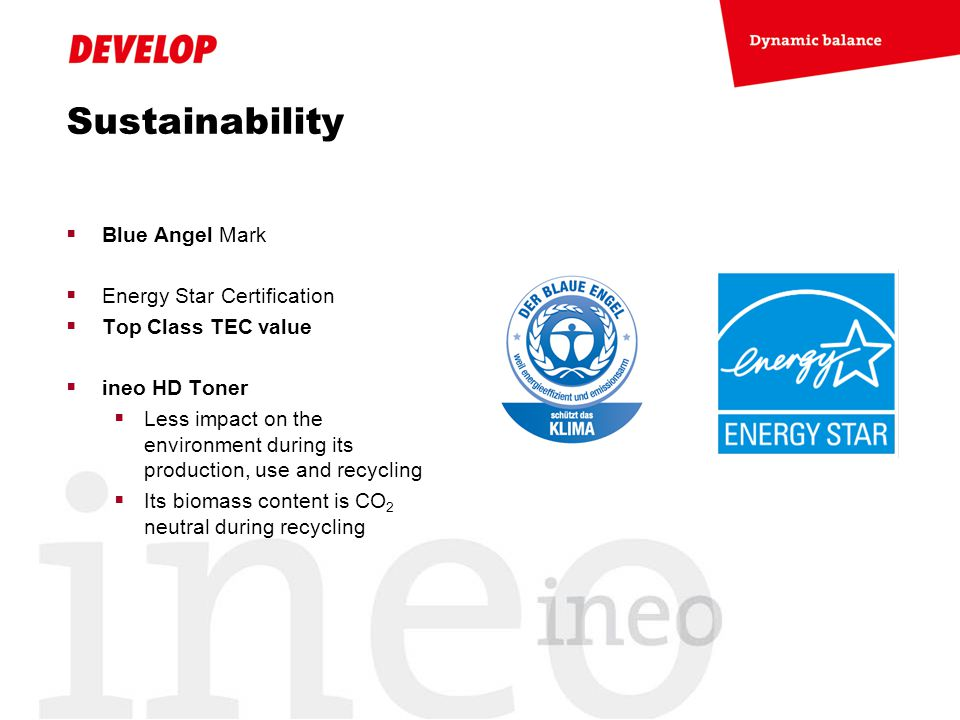 Sustainability Blue Angel Mark Energy Star Certification