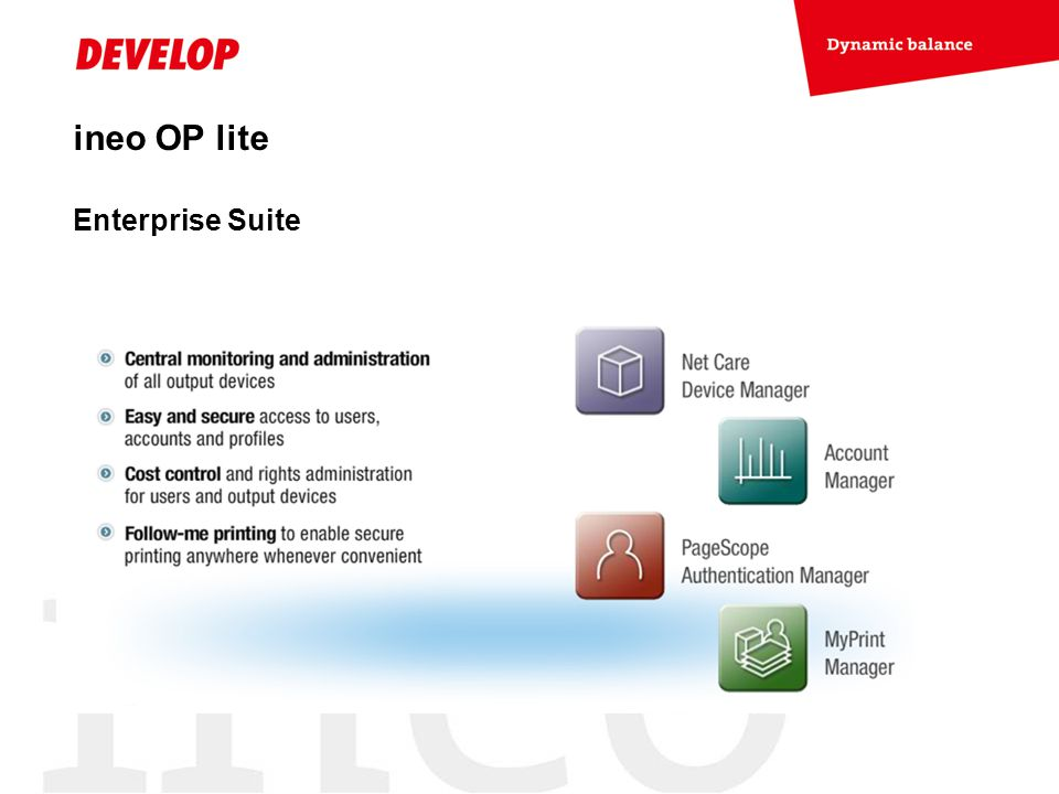 ineo OP lite Enterprise Suite