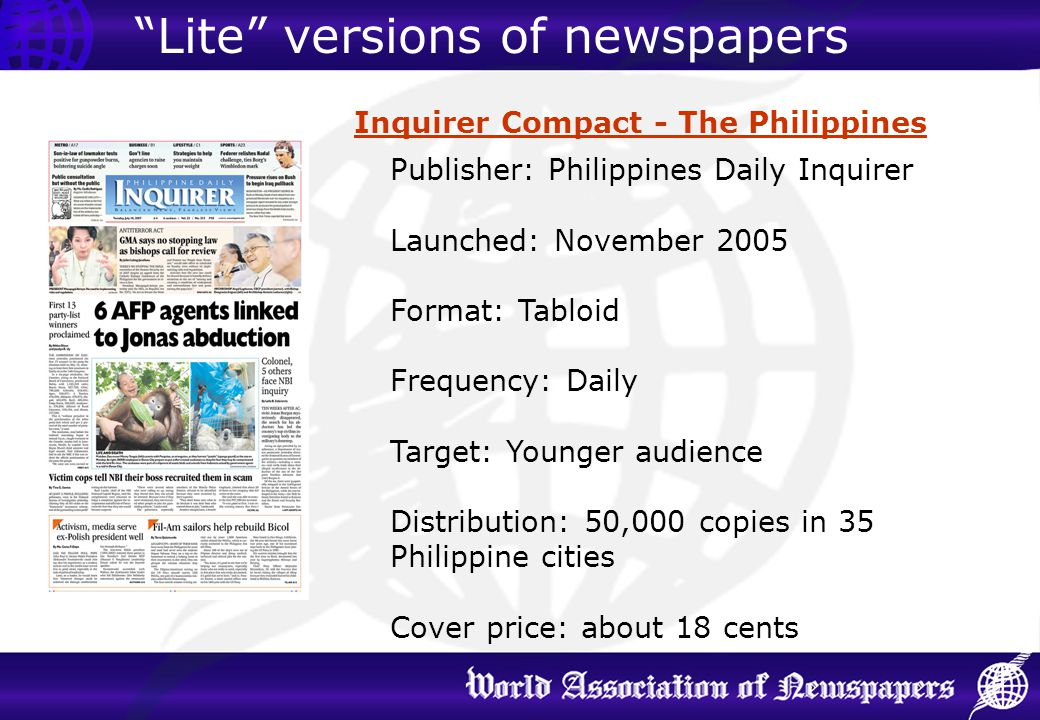 Inquirer Compact - The Philippines