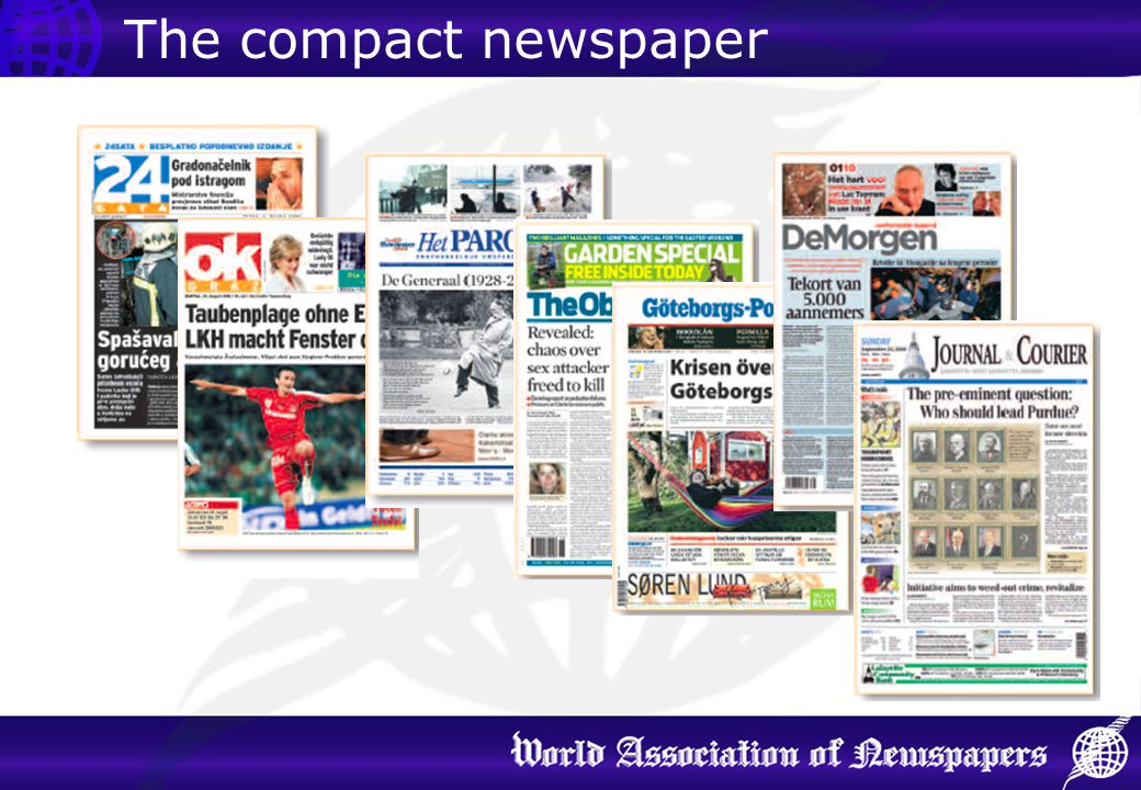 The compact newspaper