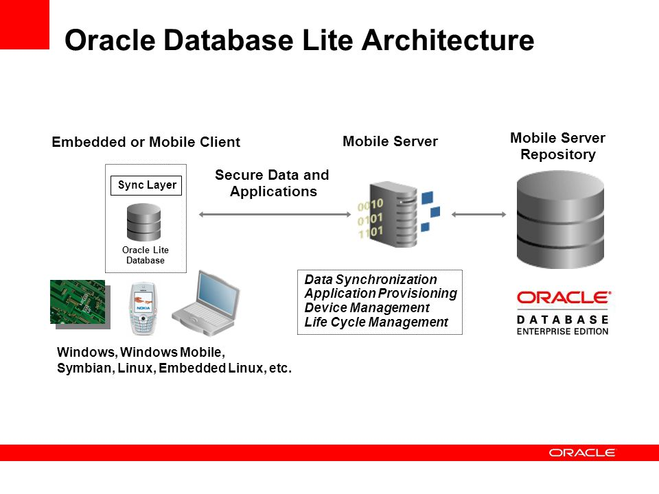 Oracle Database Lite Architecture