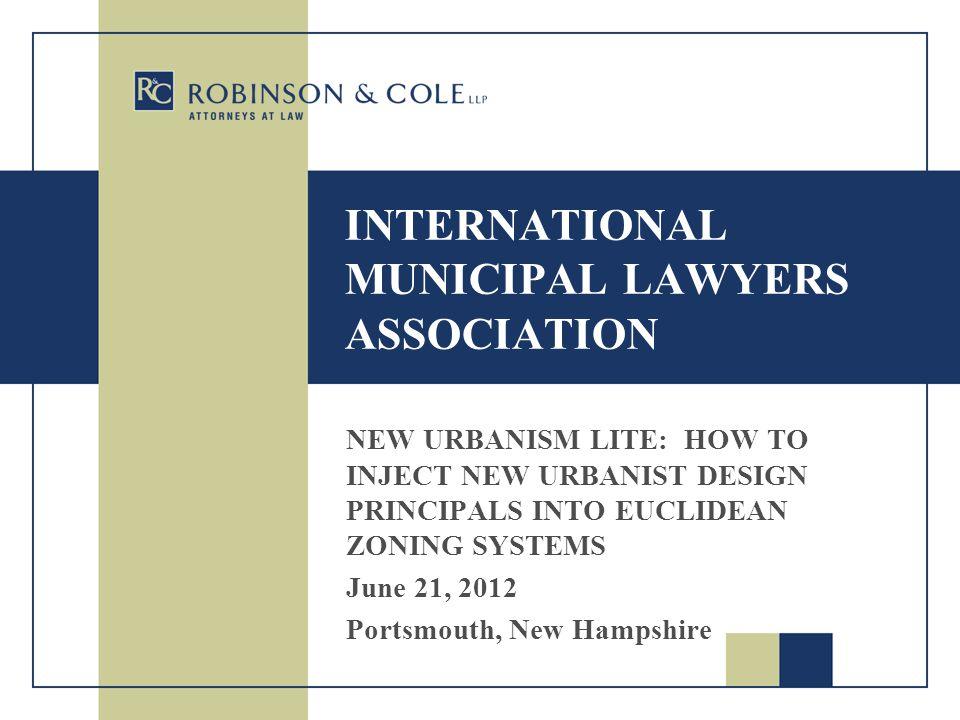 INTERNATIONAL MUNICIPAL LAWYERS ASSOCIATION