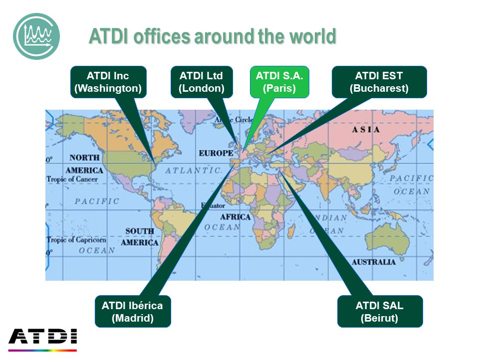 ATDI offices around the world