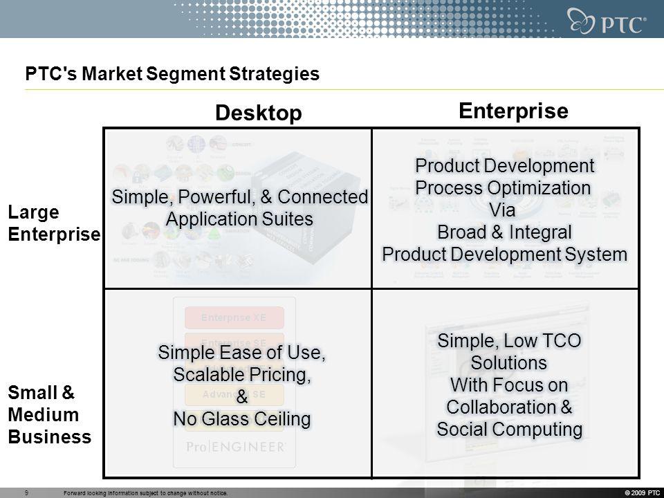 PTC s Market Segment Strategies
