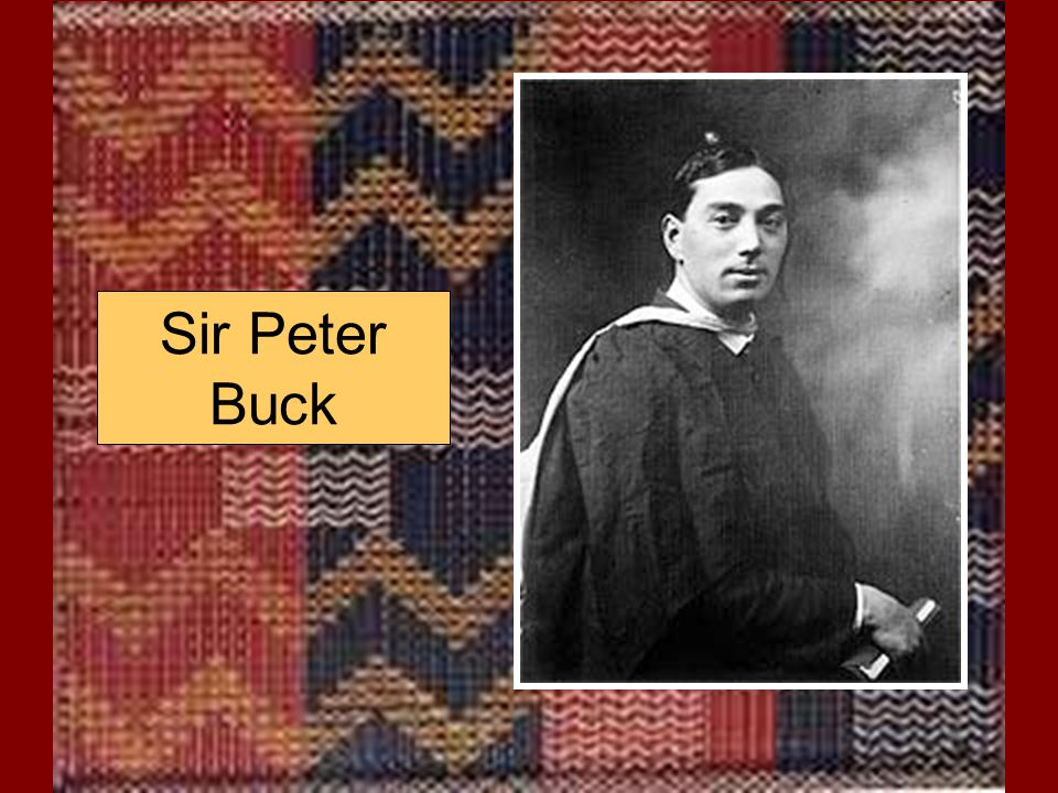 Sir Peter Buck