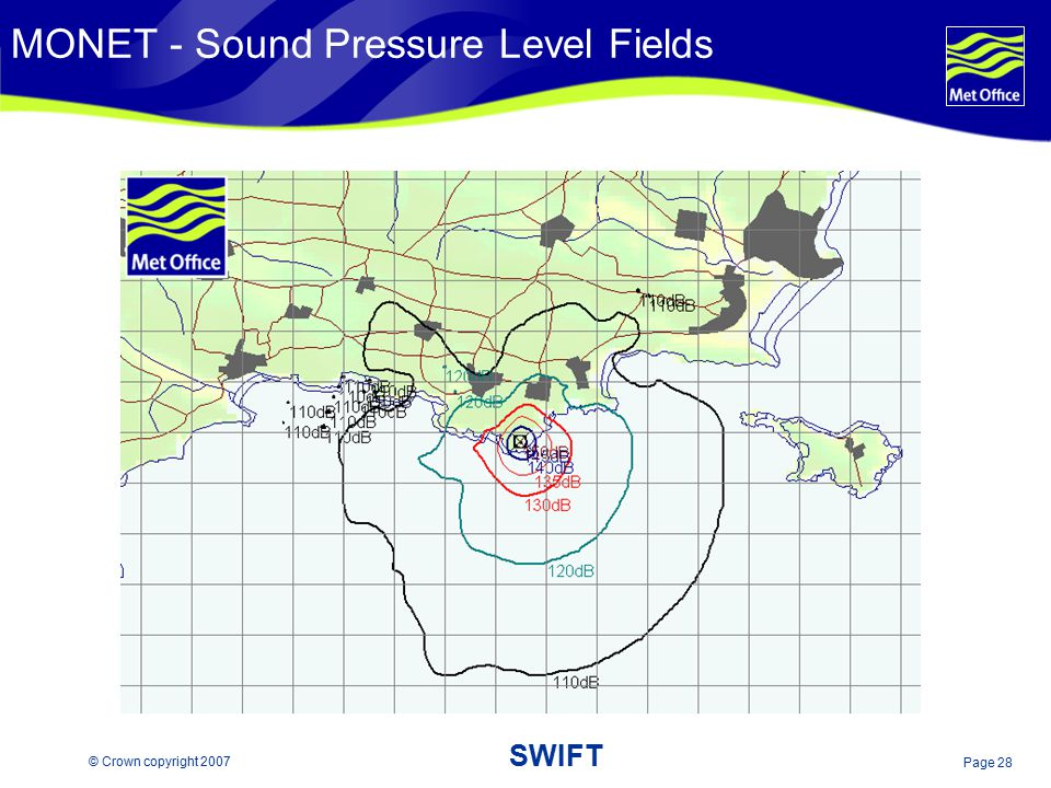 MONET - Sound Pressure Level Fields