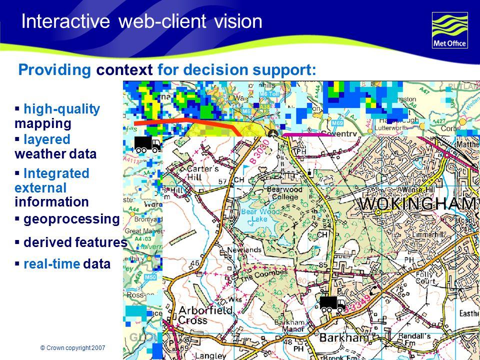 Interactive web-client vision