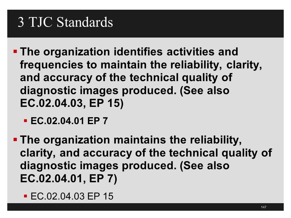 3 TJC Standards