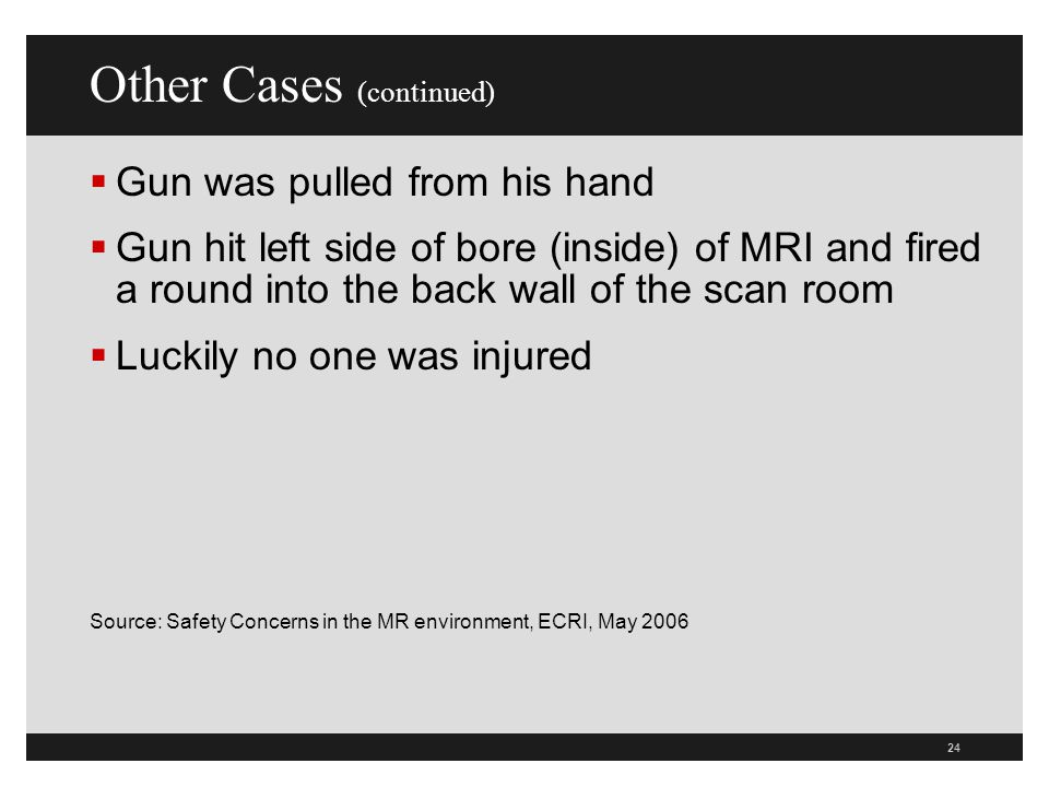 Other Cases (continued)