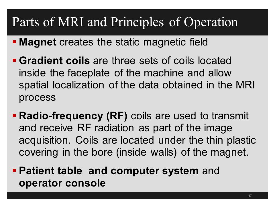 Principles Of Data Acquisition : Mri safety ppt download