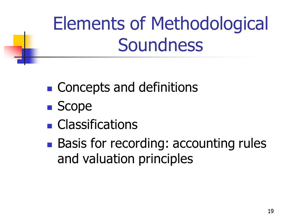 Elements of Methodological Soundness