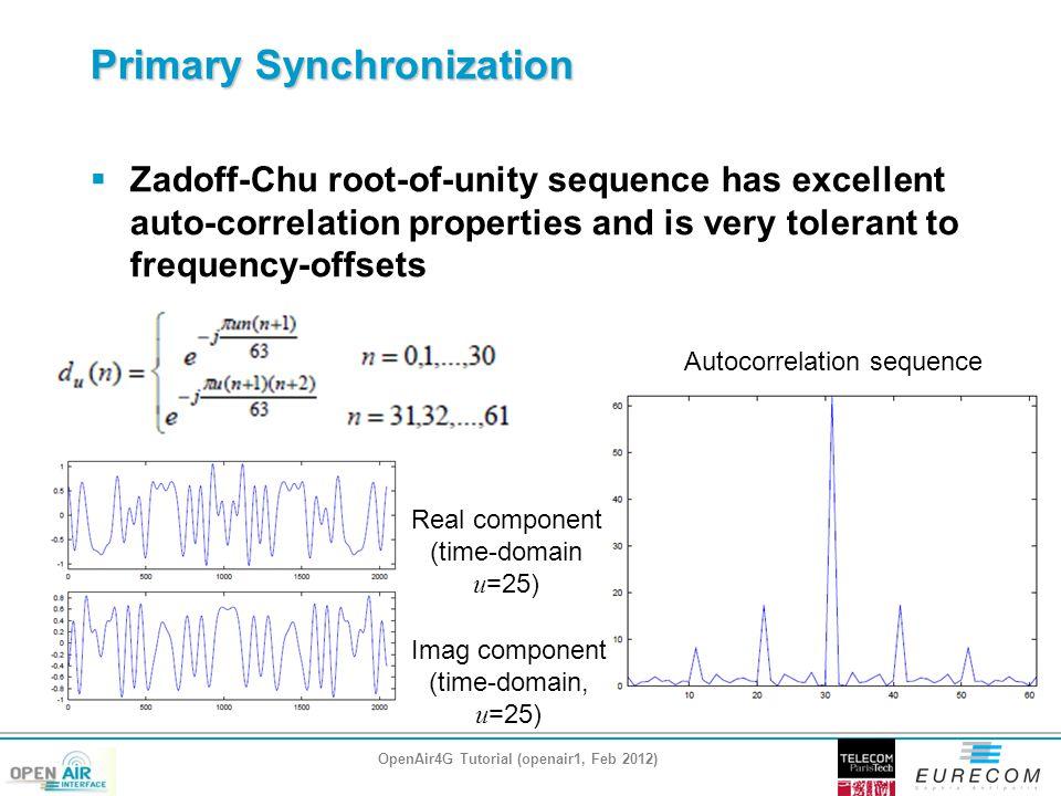 Primary Synchronization