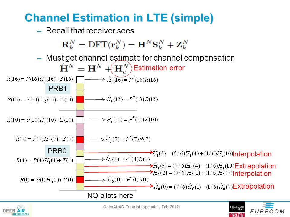 Channel Estimation in LTE (simple)
