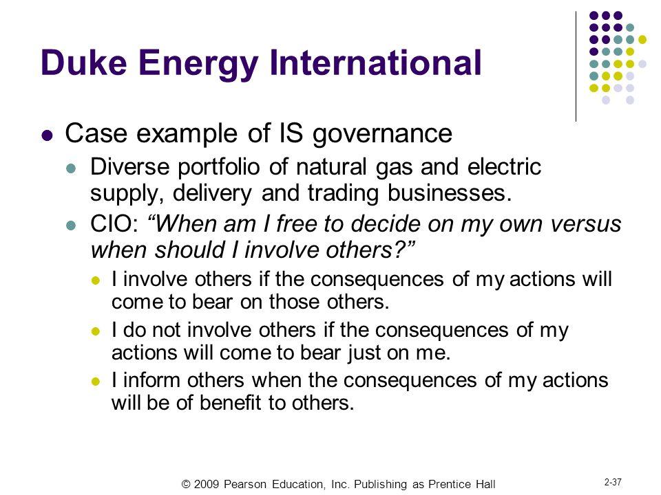 Duke Energy International