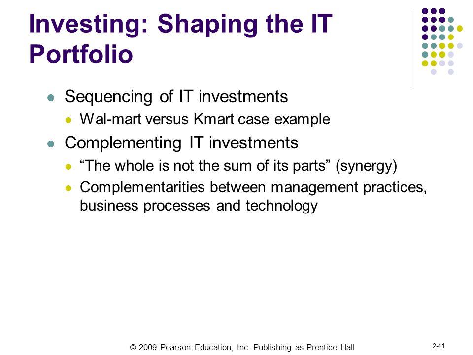 Investing: Shaping the IT Portfolio