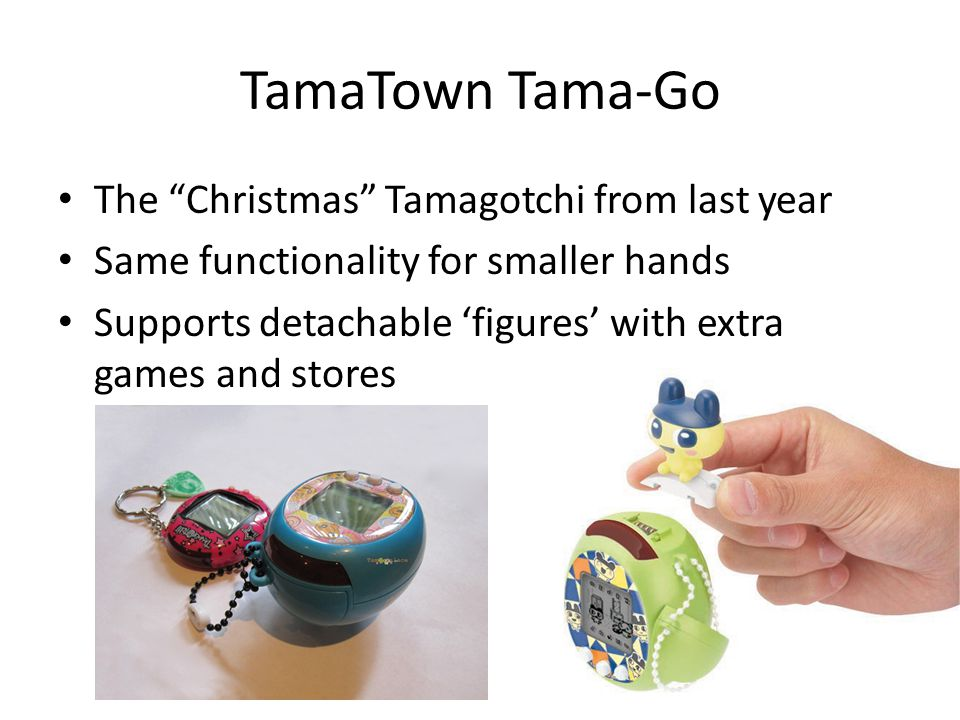 TamaTown Tama-Go The Christmas Tamagotchi from last year