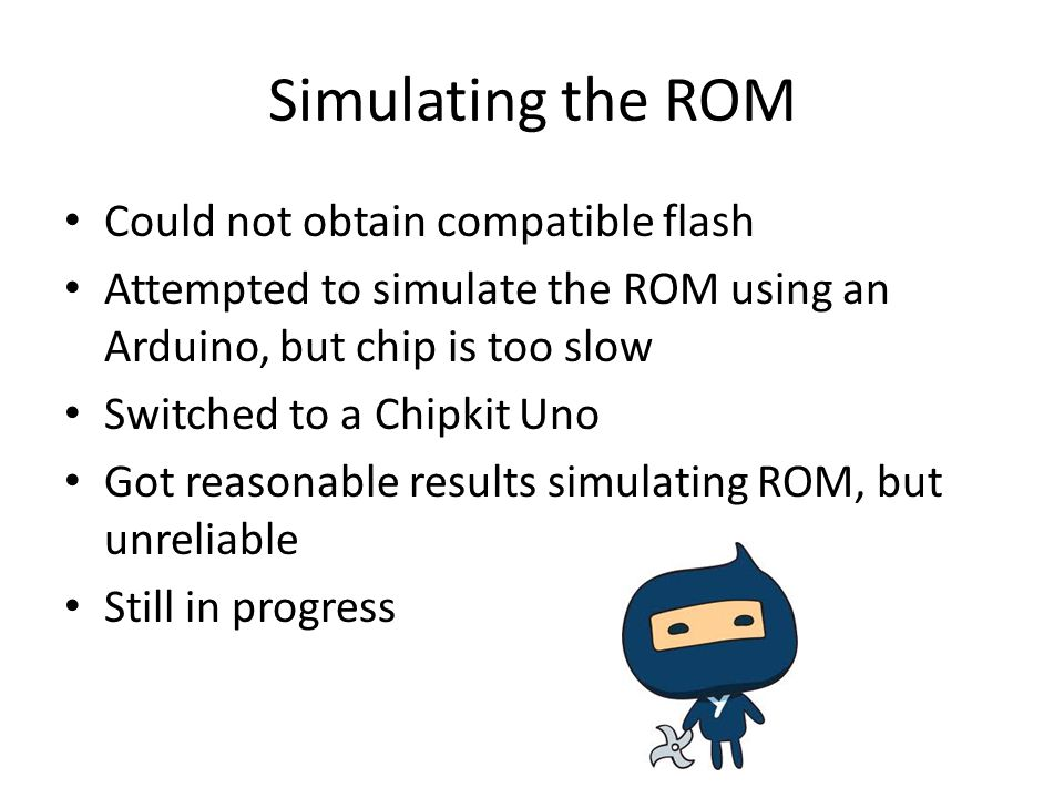 Simulating the ROM Could not obtain compatible flash