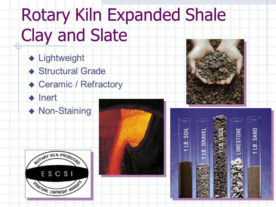 Rotary Kiln Expanded Shale Clay and Slate
