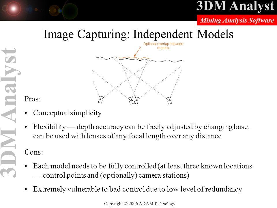 Image Capturing: Independent Models