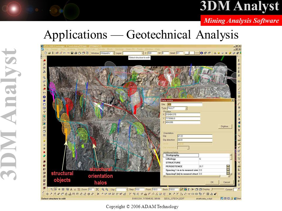 Applications — Geotechnical Analysis