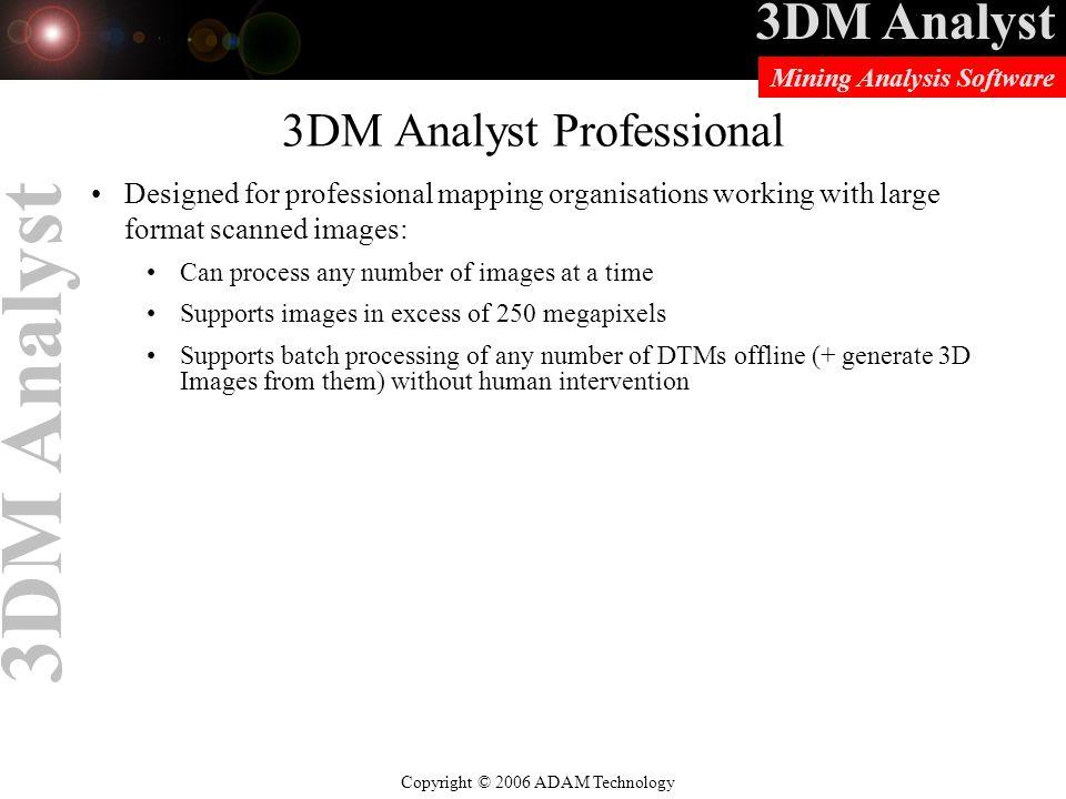 3DM Analyst Professional
