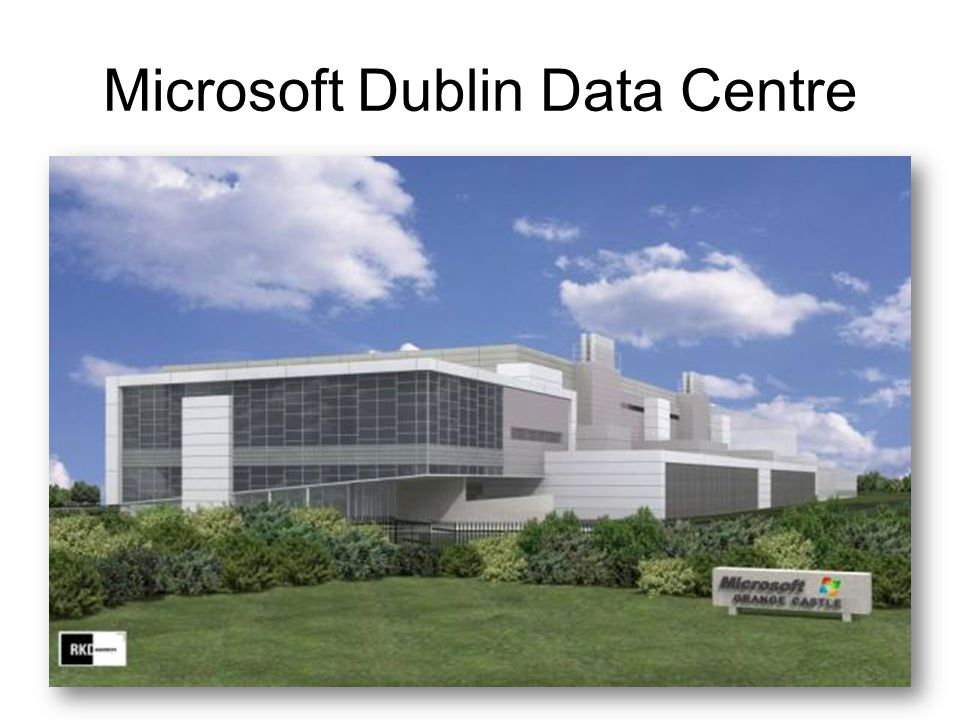 Microsoft Dublin Data Centre