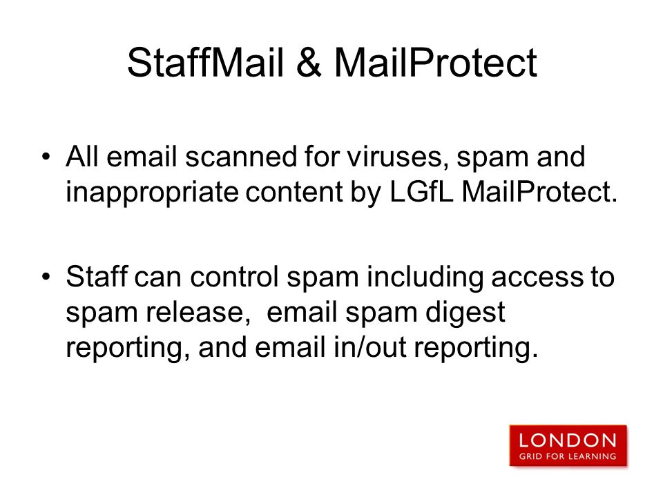 StaffMail & MailProtect