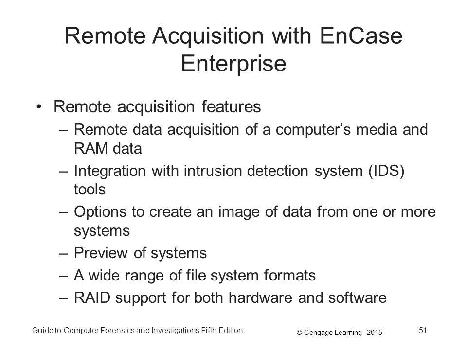 Remote Acquisition with EnCase Enterprise