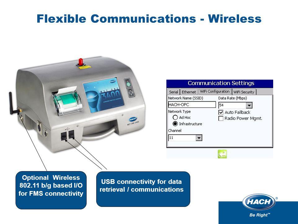 Flexible Communications - Wireless