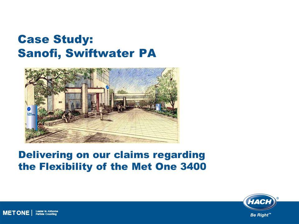 Case Study: Sanofi, Swiftwater PA