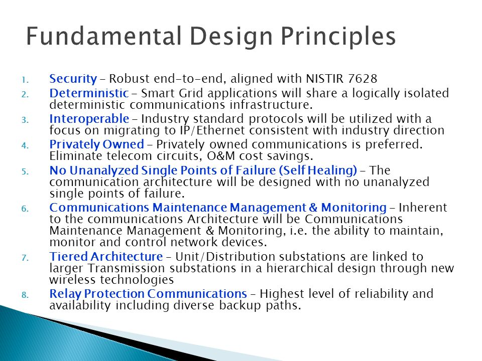 Fundamental Design Principles