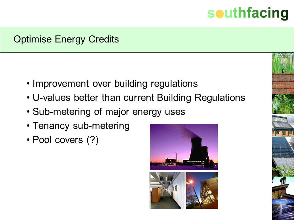 Optimise Energy Credits