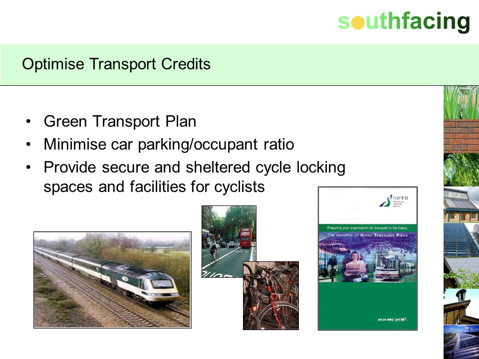 Optimise Transport Credits