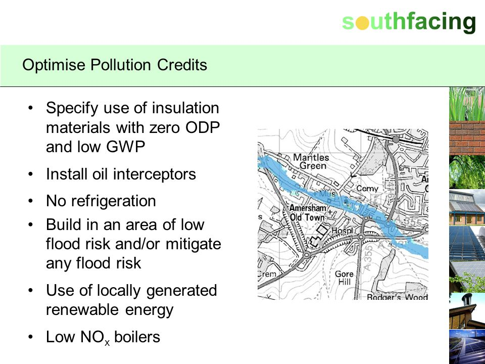 Optimise Pollution Credits