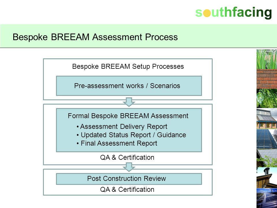 Bespoke BREEAM Assessment Process