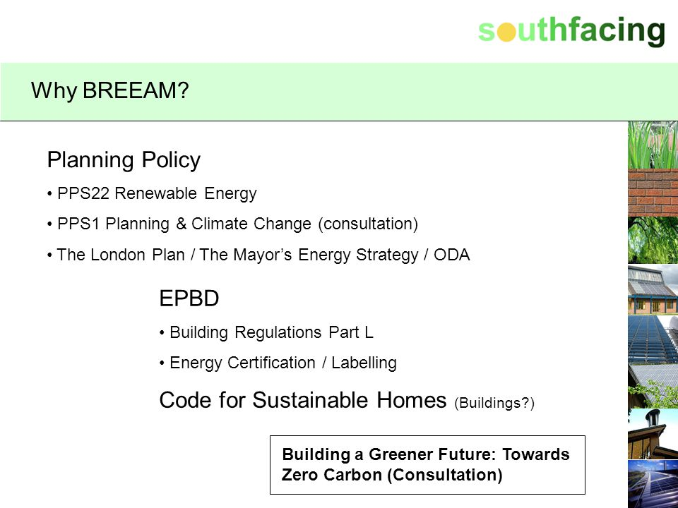 Code for Sustainable Homes (Buildings )