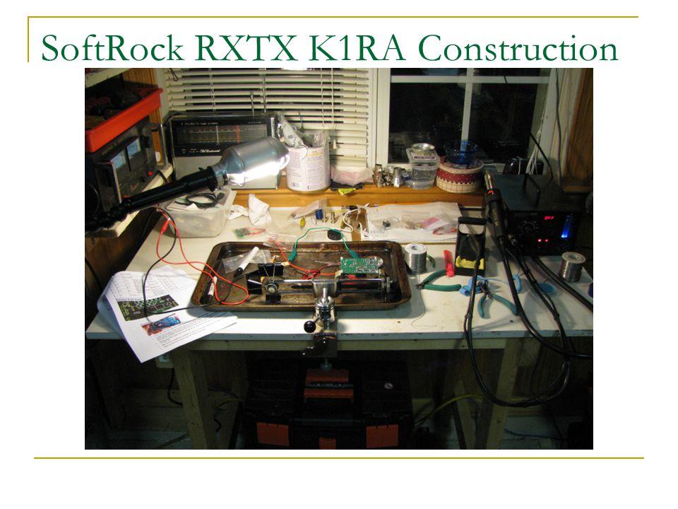 SoftRock RXTX K1RA Construction