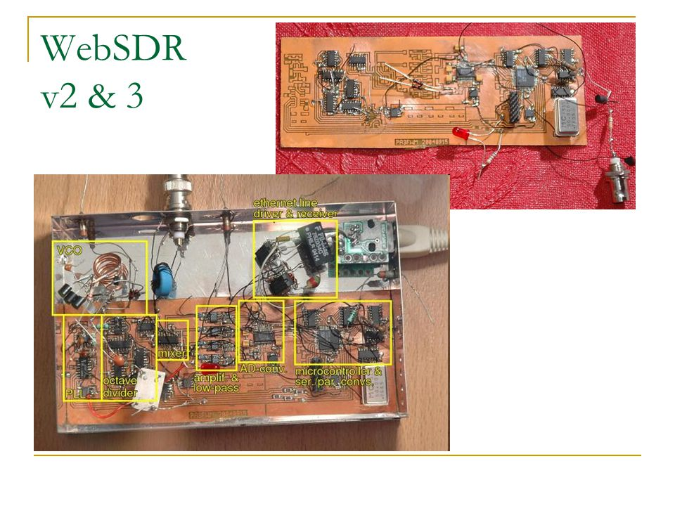 WebSDR v2 & 3
