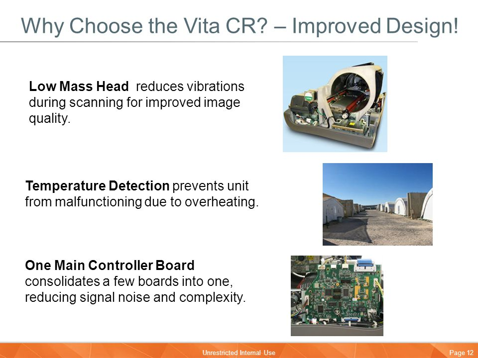 Why Choose the Vita CR – Improved Design!