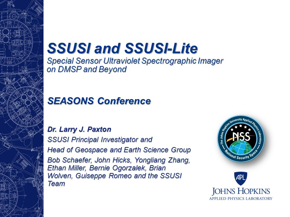 SSUSI and SSUSI-Lite Special Sensor Ultraviolet Spectrographic Imager on DMSP and Beyond