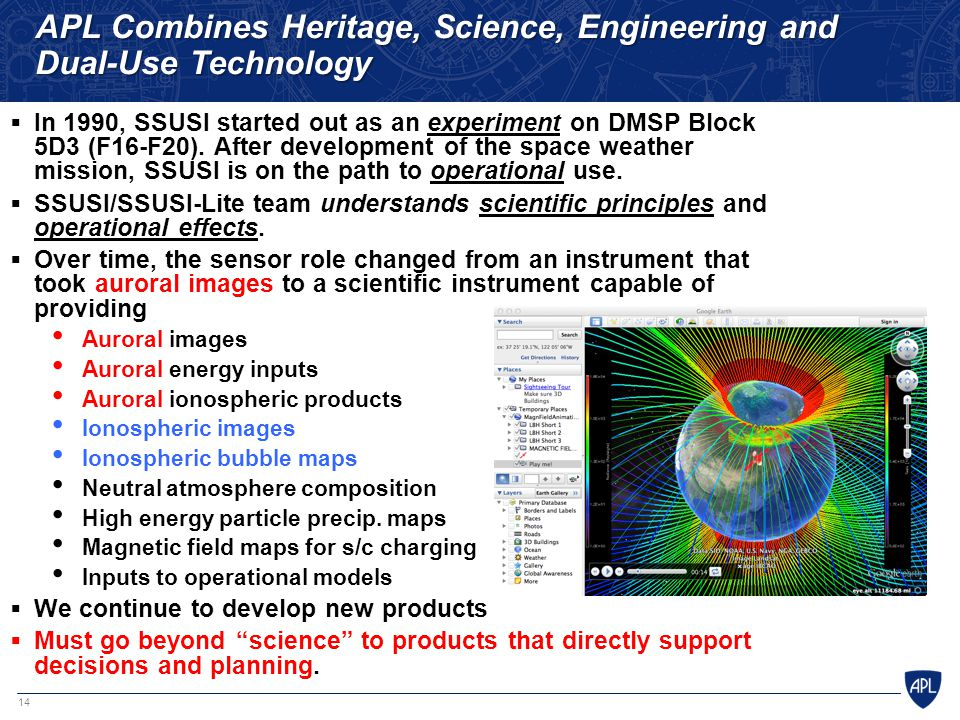 APL Combines Heritage, Science, Engineering and Dual-Use Technology